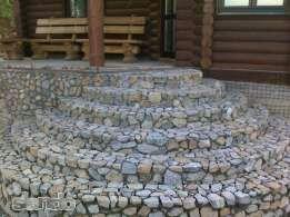 Кладка бута ( природного камня )