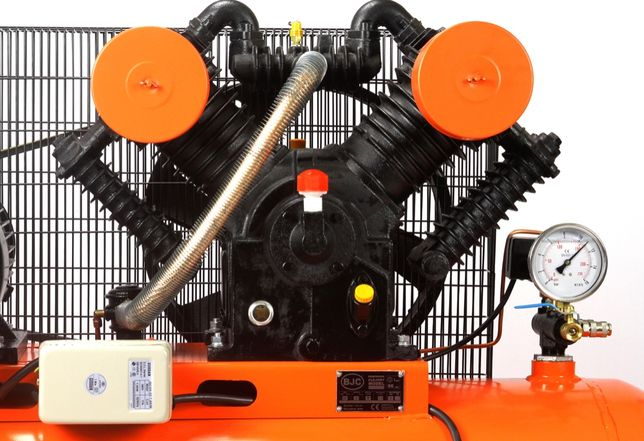 Kompresor OLEJOWY 350L 1450 L/m BJC + MEGA ZESTAW 8w1 Gnojno - image 4
