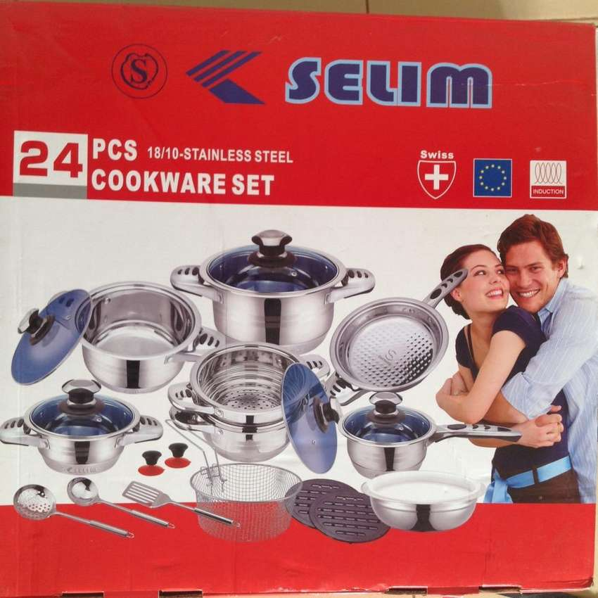 24PCS Cookware Set 0