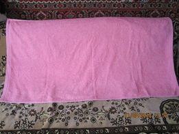 Банное махровое полотенце 130 см. на 70 см.