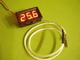 Цифровой термометр 0 ... +999 °С с термопарой К-типа