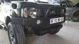 Suzuki Jimny Front Steel Replacement Bumper