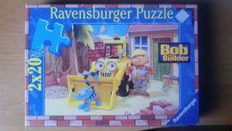 Puzzle Bob budowniczy 2 x 20 elementów
