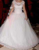 Свадебное платье + 2 Подьюбника