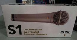 Rode S1 - Mikrofon pojemnościowy