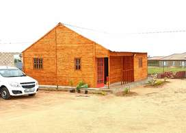 2-bedroom Wooden House (KwenaMoloto 2) ready for occupation