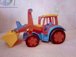 Трактор Гигант с прицепом, Wader