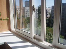 Окно металлопластиковое раздвижное с сеткой купить. Рассрочка. Одесса