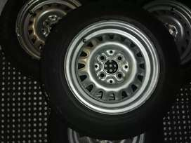 Tyre and wheels
