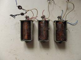 Втягивающиеся электромагниты магнитофона СНЕЖИТЬ