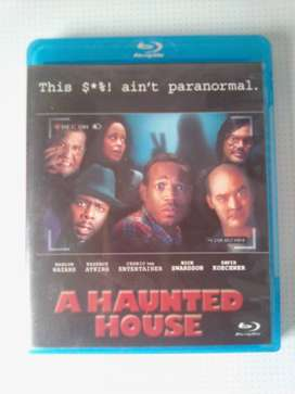 "Blu-ray DVD Movie ""A Haunted House"". As well as other Movies and Music"