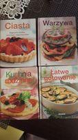 Zestaw książek kucharskich - NOWE