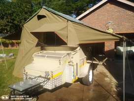 Afrispoor Rino- Off road camper trailer. No more load shedding!