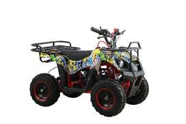 50cc rockystar graffiti quad bike limited edition