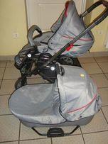 Wózek 3w1 Hartan VIP XL 501(gondola i spacerówka),STAN IDEALNY