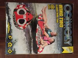 Connelly 2 rider tube with ski rope