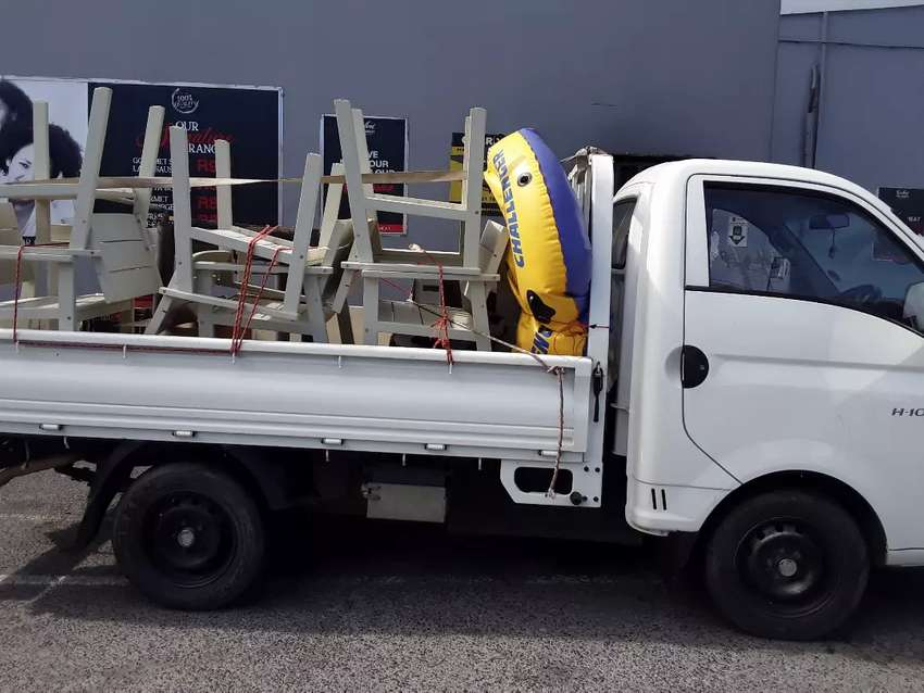 Hyundai H100 Bakkie (Incl driver) for hire 0