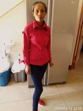 Domestic worker looking for a job as a Cleaner
