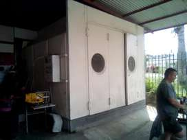 8m x 4m Spraybooth for sale