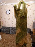 Вечернее платье + шаль-платок