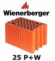 Porotherm 25 p+w WIENERBERGER kl.15