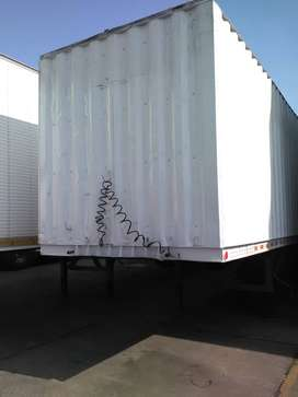 Henred closed body trailer for sale