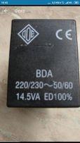 Катушка электромагнитная ODE RBDA 08223 DS (220V/8W)