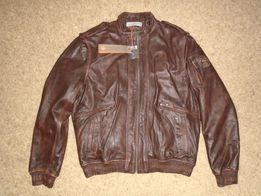 Кожаная куртка PUMA (100% оригинал) XXL-XL