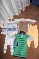 Paka ubranek ubranka/dla chłopca rozmiar 74