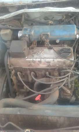Golf  1 2 l engine with the  lock set