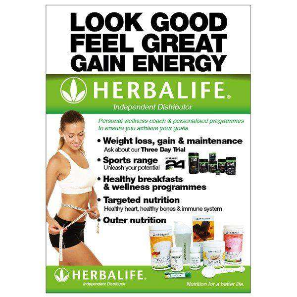 HERBALIFE NUTRITION TRANSFORM YOUR BODY