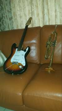 A Trumpet I bough It during December last month but I can't play it 0