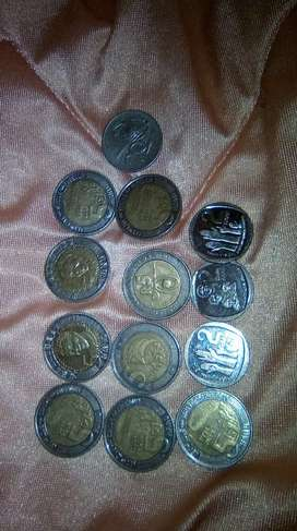 Selling coins