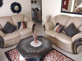 Gomma gommma lounge suite with then matching diningroom suit