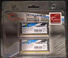Память Mac G.Skill RipJaws 32GB (2x16GB) DDR4-2133 PC4-17000 sodimm