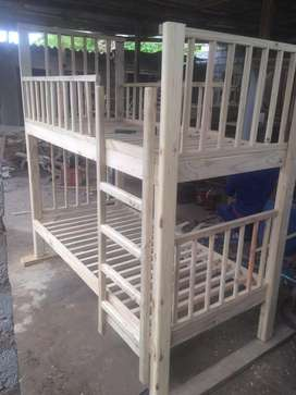 Single bed double bunk