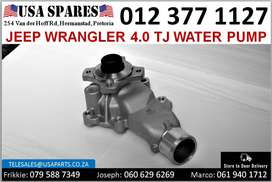 Jeep Wrangler 4.0 TJ 1999-07 water pump for sale