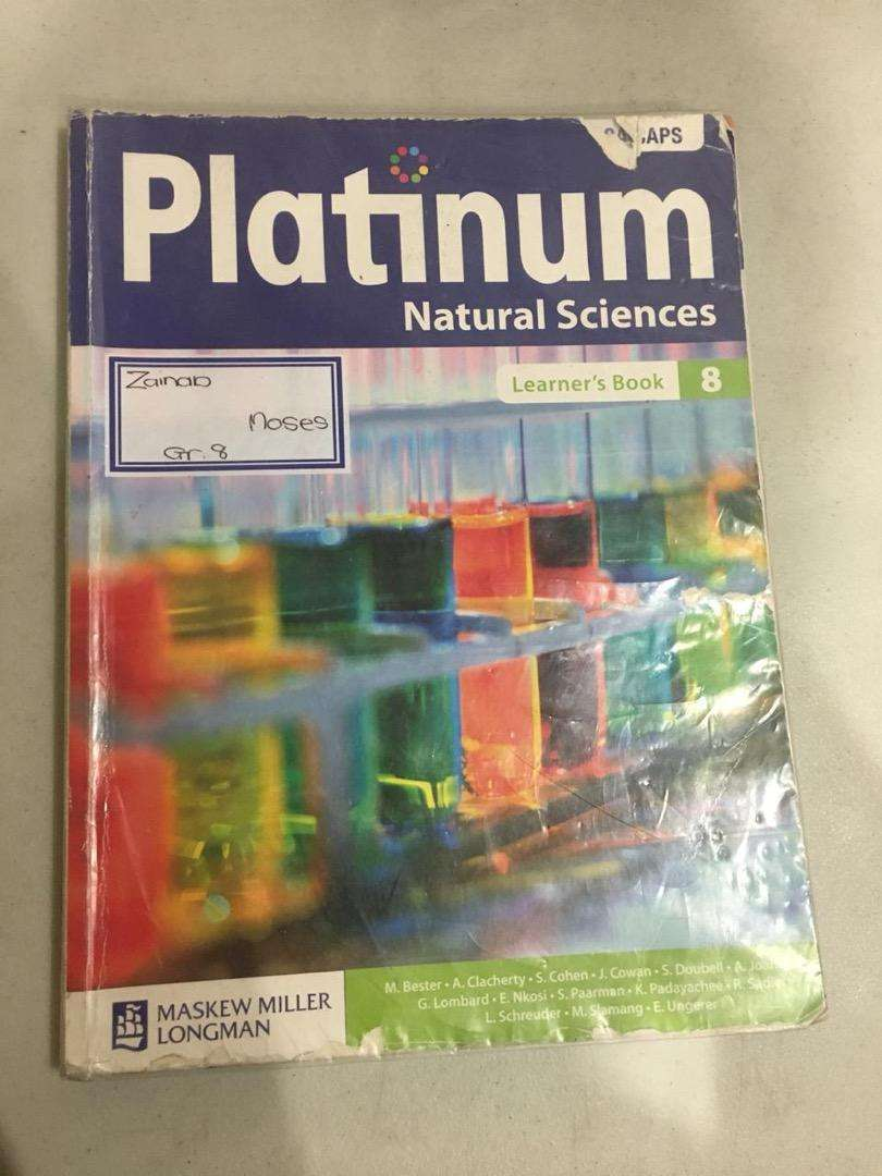Platinum natural science grade 8 0
