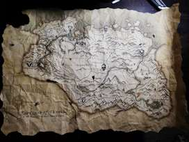 Skyrim Rare Limited Edition Map