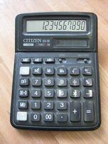 370р. Калькулятор CITIZEN SDC-382 12 разрядный, солнечная батарея