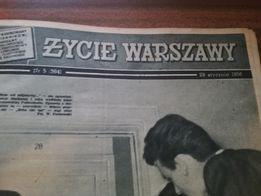 Stare gazety 1956/1958 życie Warszawy/szpilki