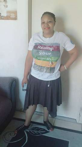 40 year old Lesotho maid/nanny/cleaner needs stay in work
