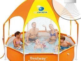 Каркасный детский круглый бассейн-басейн Best Way 56432