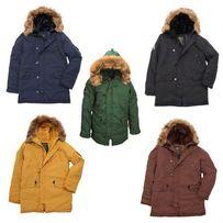 Мужская зимняя куртка Altitude Аляска Alpha Industries теплая!