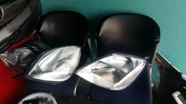 Set of Ford fiesta headlights