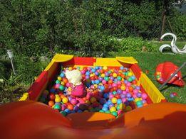 ®️Suchy basen z kulkami zjeżdżalnia okazja