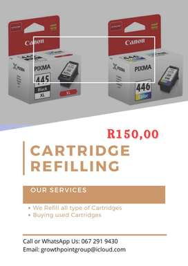 Cartridge and Ink Refills
