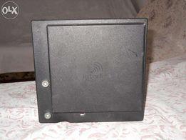 'Antena panelowa 5GHz do odbioru darmowego internetu radiowego;