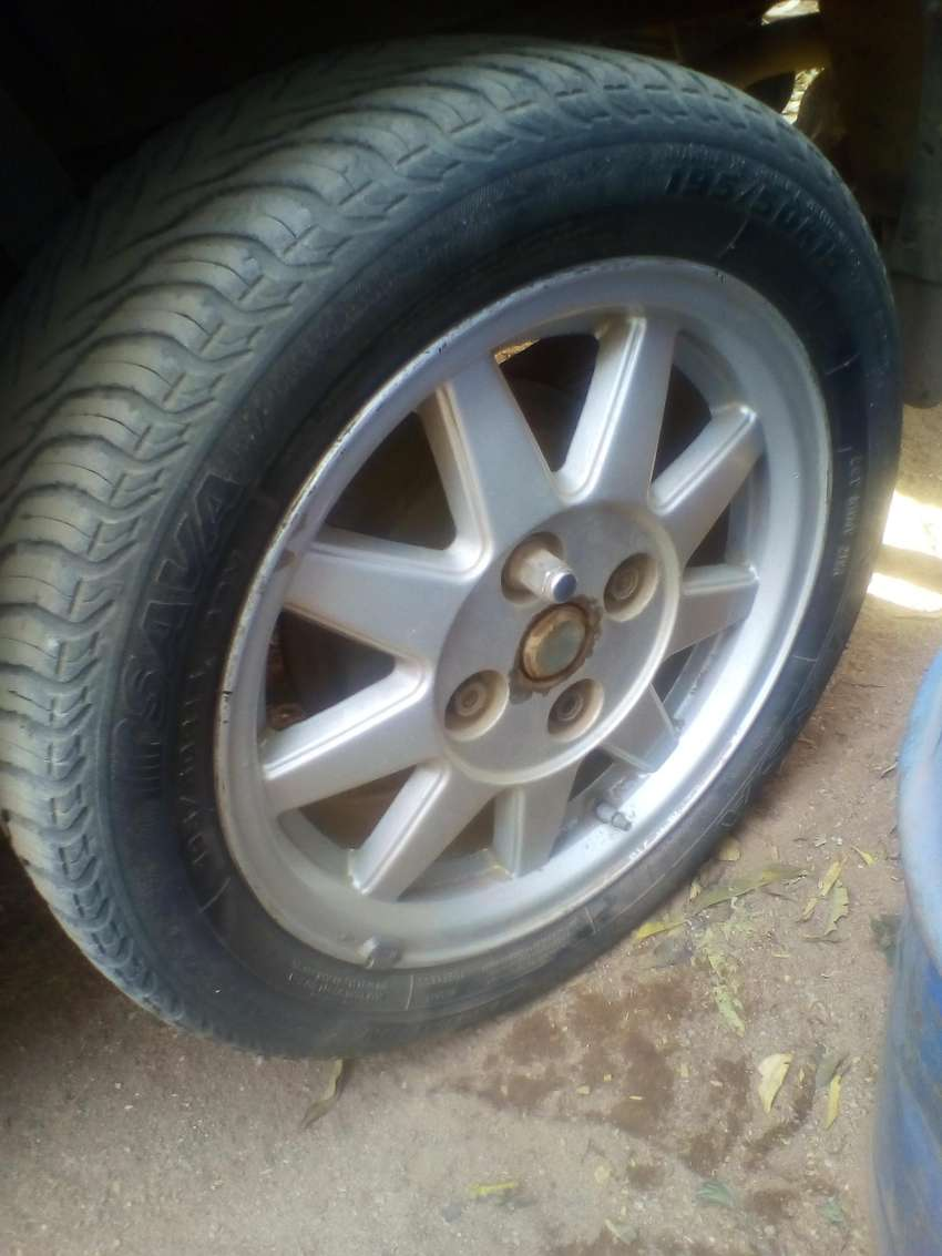 4 ford bantam rims and tyres 0