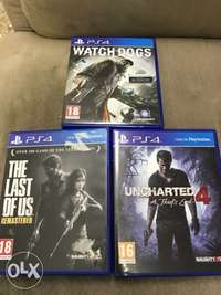 ps4 games 1500 each 0